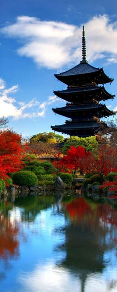 To-ji Temple in Nara, Japan