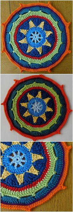 60+ Free Crochet Mandala Patterns - Page 11 of 12 - DIY & Crafts