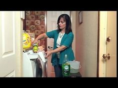 ▶ How Do I Clean Front-Loading Washing Machines? : Home Cleaning - YouTube