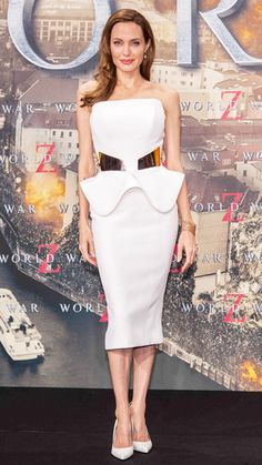 Angelina Jolie's Best Red Carpet Looks Ever - In Ralph & Russo, 2013 from #InStyle