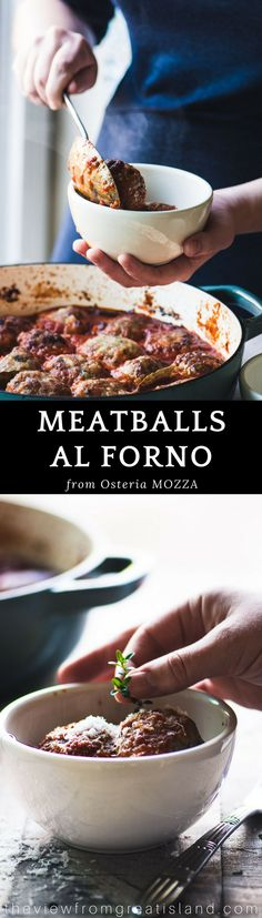 Meatballs al forno by Nancy Silverton