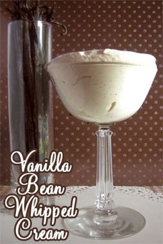 Vanilla Bean Whipped Cream - So Rich and Decadent!