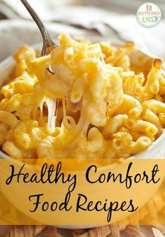 9 healthy comfort foods!