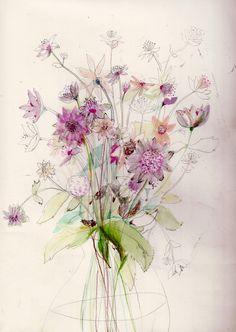 Flower Studies by Katy Smail pinner Melissa Henson