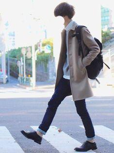 classy mens fashion that look stunning 573396 Fashion Pants, Boy Fashion, Winter Fashion, Fashion Outfits, Fashion Design, Fashion Ideas, Casual Outfits, Asian Men Fashion, Trendy Mens Fashion