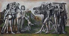 Massacre en Corée, par Pablo Picasso