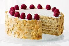 Japonaise cake - need to substitute the dairy.