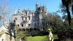Quinta da Regaleira is a very beautiful castle with the tour by a stunning garden and lots of history here like a cave. It is located near the Centre of Sintra, Portugal. Portugal Tourism, Sintra Portugal, Beautiful Castles, Travel Bugs, Barcelona Cathedral, Cave, Centre, Around The Worlds, Tours