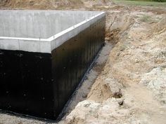 Statue of Waterproof Basement: The Best Way to Deal with Your Basement Flooding and Leaking Waterproof Foundation, Foundation Repair, House Foundation, Flooded Basement, Basement Walls, Wet Basement, Basement Ideas, Icf Home, 6 Bedroom House Plans