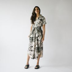 Floral Leandra Dress from Hackwith Design House
