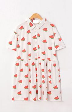 watermelon shift dress!