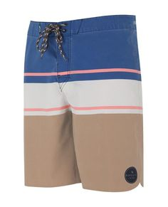 903e34b280 The Offset Boardshort features a tie-up front, welded pocket, and screen  printed logos.