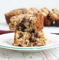 Oatmeal+Chocolate+Chip+Quick+Bread+•+Table+for+Seven
