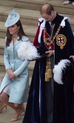 Catherine, Duchess of Cambridge and Prince William, Duke of Cambridge, Order of…