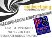 LOYALTY PROGRAM - Turn your customers into returning friends and make money even when they shop somewhere else.