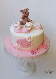 Christening cake by Jitkap