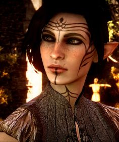 inquisitorsofdragonage: Cinder Lavellan God how i wish you didn't have to install mods for the game to be as beautiful as this :(