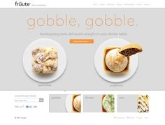 Pies - Web Design Inspiration
