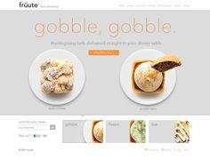 Pies - Web Design Inspiration