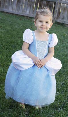 Free Cinderella Dress Pattern and Tutorial