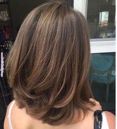 Medium Hair Cuts, Long Hair Cuts, Medium Hair Styles, Curly Hair Styles, Thin Hair, Thick Hair Long Bob, Haircut For Medium Length Hair, Medium Length Haircuts, Long Bob Haircut With Layers