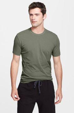 Men's James Perse Crewneck Jersey T-Shirt