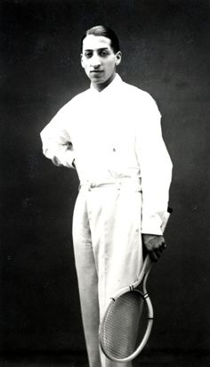 René Lacoste   From the Lacoste S.A. Archives.  © Henri Manuel  source : http://www.lacoste.com|permalink:http://lacoste.tumblr.com/post/24544230046