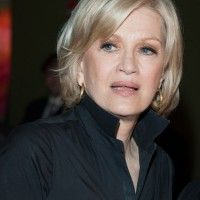 2014 Short Blonde Bob Haircut for Older Women Over 60 - Diane Sawyer Hairstyles