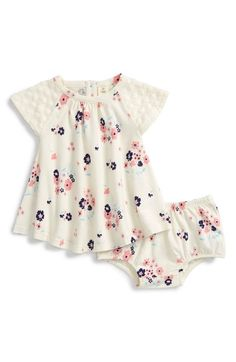 Tucker + Tate Floral Print Dress (Baby Girls) available at #Nordstrom