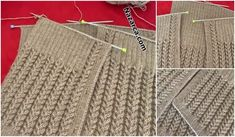 ÖRGÜ KADIN YELEK MODELİ: KABARIK ÖRNEKLİ | Nazarca.com Baby Knitting Patterns, Crochet Patterns, Yun Yun, Zig Zag Crochet, Bargello, Projects To Try, Accessories, Fashion, Tejidos