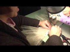 Constructing a Classical Ballet Tutu (Part 4: Sewing Layers to the Panty)…