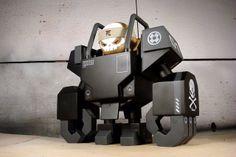 "Huck Gee x Kidrobot's ""Post-Apocalypse"" Dunny Series Predictions! Vinyl Toys, Vinyl Art, Hobby Toys, Cute Toys, Awesome Toys, Awesome Art, Robot Concept Art, Designer Toys, Paper Toys"