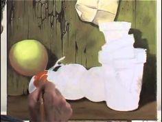 Cours de peinture acrylique www.label-art.fr Réussir un trompe l'oeil à l'acrylique #coursdepeinture #peintureacrylique #labelart