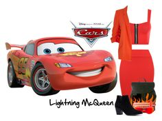 Our Son Wanted To Be Lightning McQueen This Halloween So We Pulled Out His Toy Cars And Coloring Book For Ideas On The Look Shape I Drew A Pat