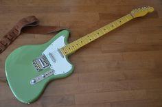 Electric Baritone Guitar Custom Built in USA Nitro Fender Lollar Pickups Look