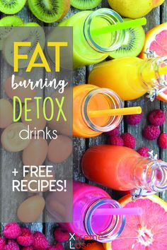 Fat Burning Detox Drinks | Free Recipes | Detox and cleanse your body with these healthy natural juices!