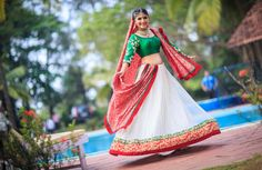 Wow! Look at her! You want the same outfit? Photo by Namit Narlawar, Mumbai #weddingnet #wedding #india #indian #indianwedding #ceremony #indianweddingoutfits #outfits #backdrops #prewedding #photographer #photography #inspiration #gorgeous #fabulous #beautiful #jewellery #jewels #details #traditions #accessories #lehenga #lehengacholi #choli #lehengawedding #lehengasaree #saree #bridalsaree #weddingsaree #tikka #earrings