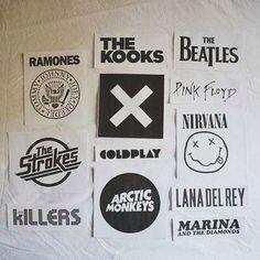 Ramones#TheKooks#Beatles#Nirvana#LanadelRey#Coldplay^^