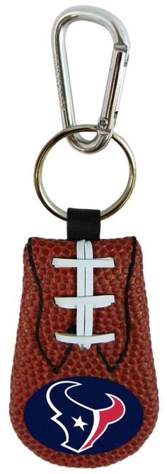 Houston Texans Classic Football Keychain