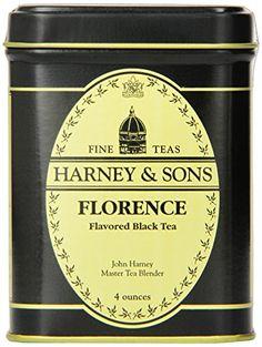 Harney & Sons Florence Loose Leaf Tea, 4 Ounce Tin - http://teacoffeestore.com/harney-sons-florence-loose-leaf-tea-4-ounce-tin/