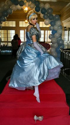 Ella lost her slipper at the Ball!  www.twincitiespartyprincess.com