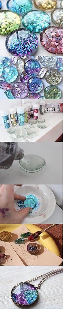DIY Glittery Glue dots diy craft crafts diy crafts do it yourself diy projects diy and crafts