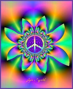 Peace Sign Art by Jayne Reynolds ☮️ Hippie Peace, Happy Hippie, Hippie Love, Hippie Style, Hippie Things, Hippie Chick, Hippie Vibes, Peace On Earth, World Peace
