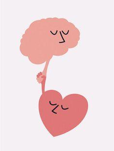 #heart #brain
