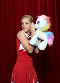 Heather Morris as Brittany S. Pierce...pure awesomeness