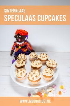 Sinterklaas cupcakes met speculaas topping | MoodKids