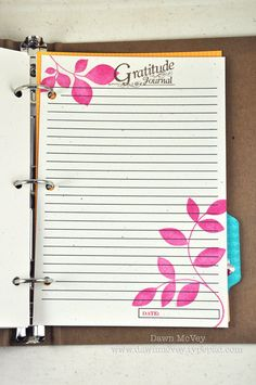 diary template for word