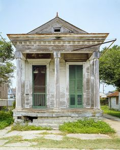 I would love to restore and decorate this house but the beauty speaks to you even in this condition.