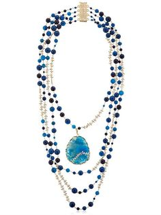 Stone Necklace by Rosantica