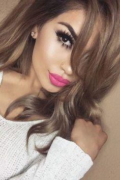 cheveux blonds foncé : avec balayage ou pas c'est un choix idéal pour l'été | Coiffure simple et facile
